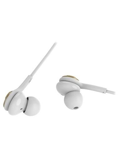 Snopy Sn-X04 Epsılon Mobil Telefon Uyumlu Beyaz/Gold Kulak Içi Mikrofonlu Kulaklık Renkli